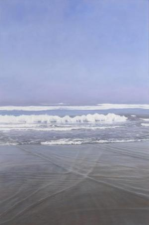 On the Beach      72 x 48 inches, oil on canvas, 2007